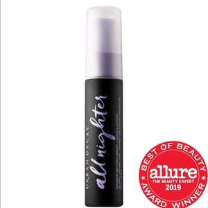 New urban decay all nighter makeup setting spray